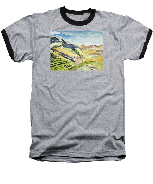 Abstract Hillside Baseball T-Shirt