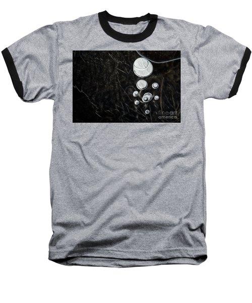 Abstract Ice Patterns II Baseball T-Shirt