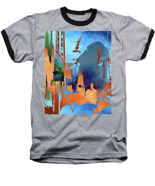 Abstract  Images Of Urban Landscape Series #1 Baseball T-Shirt