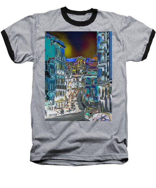 Abstract  Images Of Urban Landscape Series #11 Baseball T-Shirt