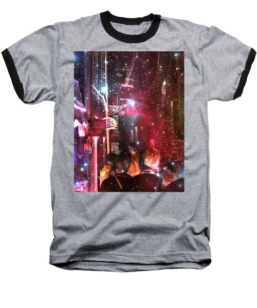 Abstract  Images Of Urban Landscape Series #12 Baseball T-Shirt