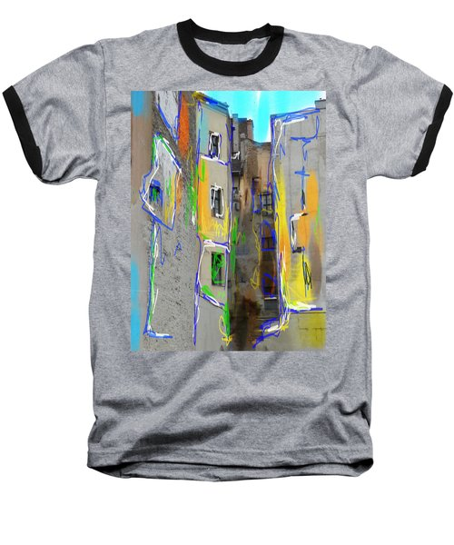 Abstract  Images Of Urban Landscape Series #13 Baseball T-Shirt