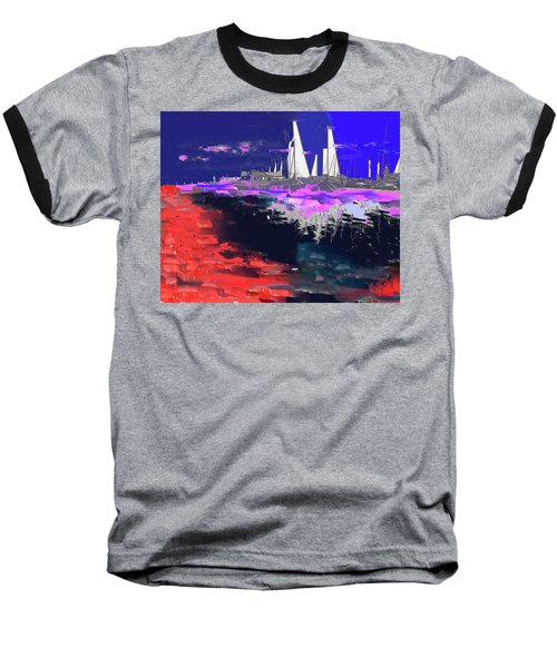 Abstract  Images Of Urban Landscape Series #14 Baseball T-Shirt