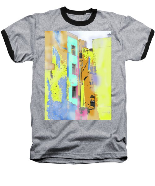 Abstract  Images Of Urban Landscape Series #2 Baseball T-Shirt