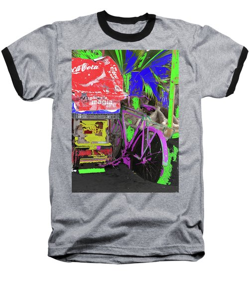 Abstract  Images Of Urban Landscape Series #3 Baseball T-Shirt