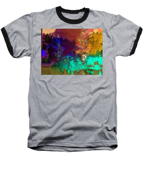 Abstract  Images Of Urban Landscape Series #4 Baseball T-Shirt