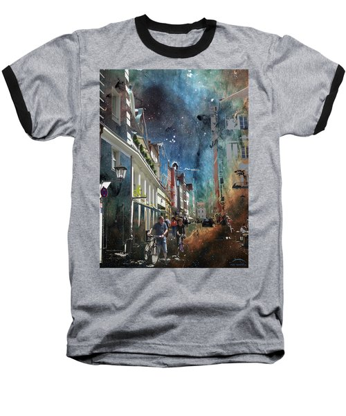 Abstract  Images Of Urban Landscape Series #6 Baseball T-Shirt