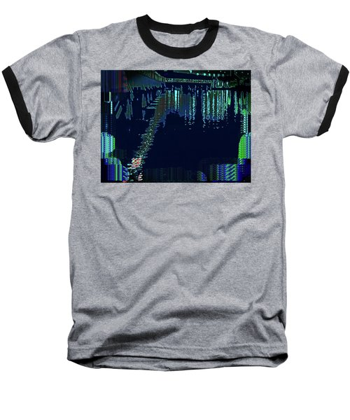 Abstract  Images Of Urban Landscape Series #7 Baseball T-Shirt
