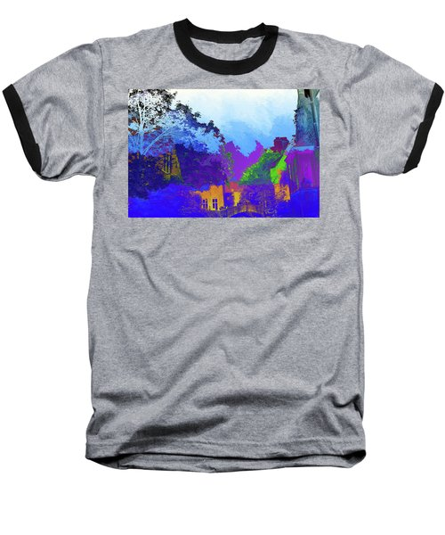 Abstract  Images Of Urban Landscape Series #8 Baseball T-Shirt