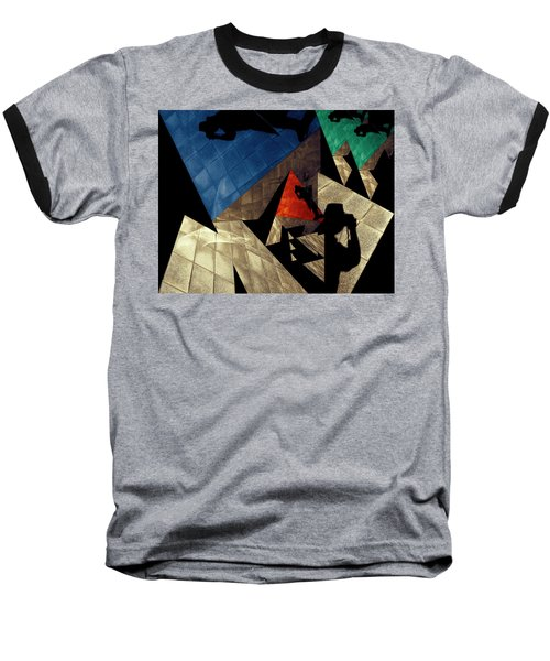 Baseball T-Shirt featuring the photograph Abstract Iterations by Wayne Sherriff