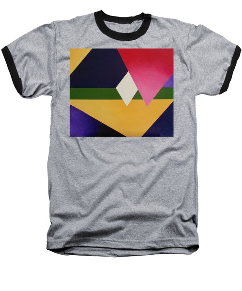 Abstract Baseball T-Shirt by Jamie Frier