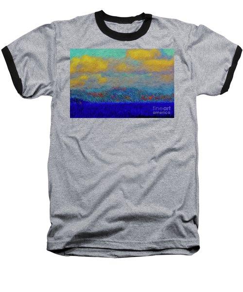 Abstract Landscape Expressions Baseball T-Shirt