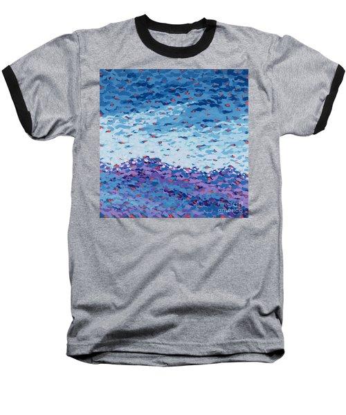 Abstract Landscape Painting 2 Baseball T-Shirt