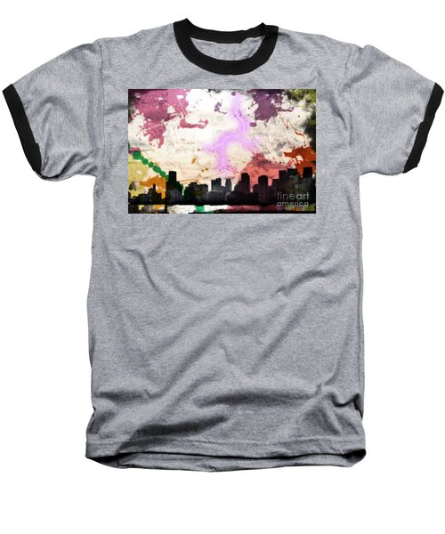 Baseball T-Shirt featuring the photograph Lightning Strikes  by Gary Smith