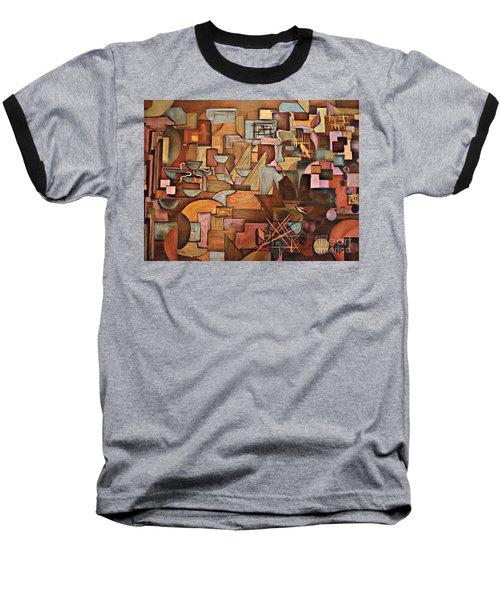 Abstract Mind Baseball T-Shirt
