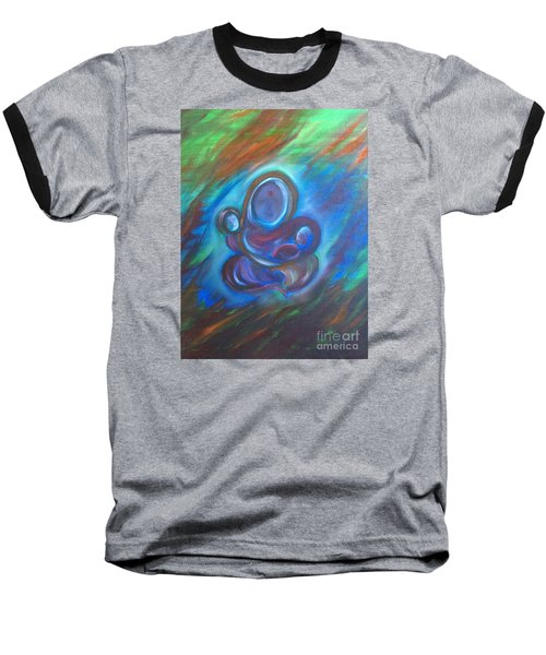 Abstract Mother Baseball T-Shirt by Brindha Naveen