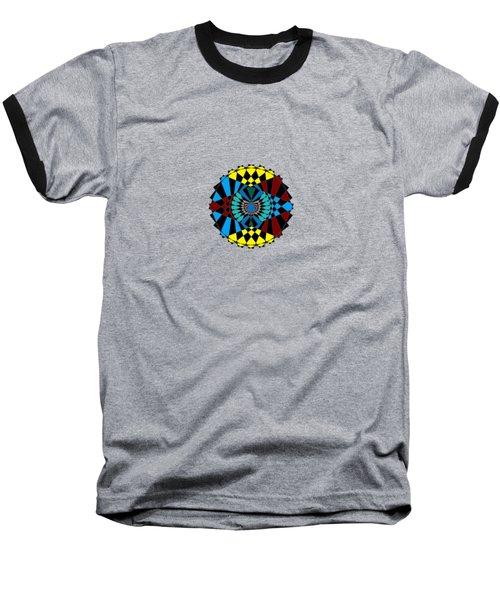 Abstract Native Dancer Baseball T-Shirt
