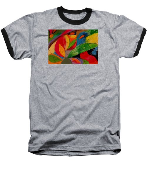 Abstract No. 5 Springtime Baseball T-Shirt
