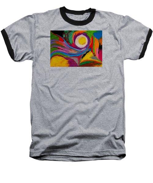 Abstract No.6 Innerlandscape Baseball T-Shirt by Maria  Disley