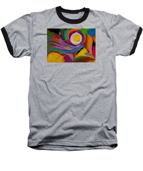 Abstract No.6 Innerlandscape Baseball T-Shirt