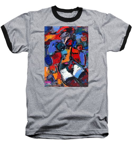Abstract Nude 05 Baseball T-Shirt