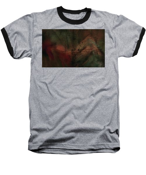 Baseball T-Shirt featuring the painting Abstract Nude 4 by Jim Vance