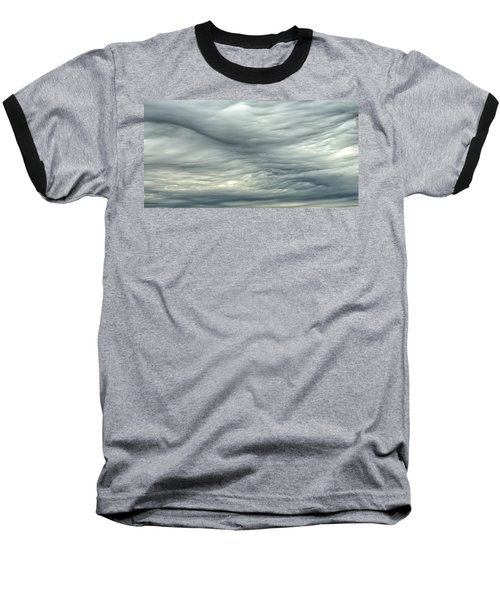 Abstract Of The Clouds 2 Baseball T-Shirt by Gary Slawsky