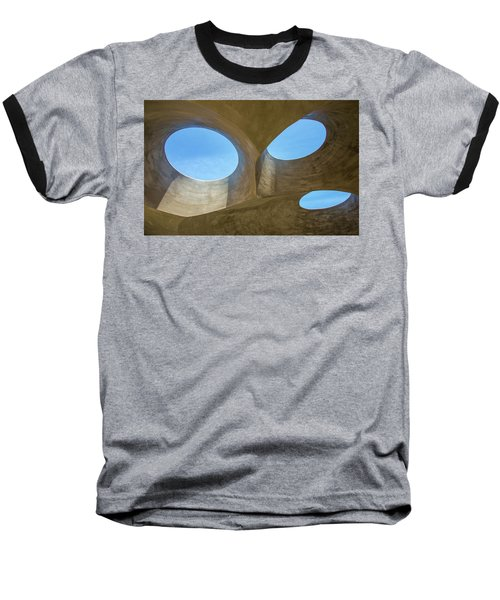 Abstract Of The Roof Baseball T-Shirt by Gary Slawsky