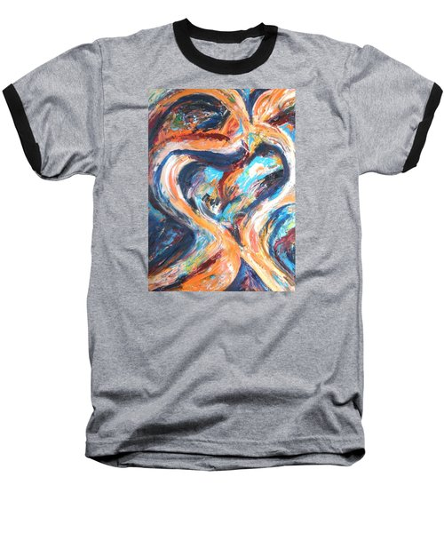 Abstract Of Womb Baseball T-Shirt