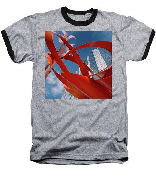 Abstract - Oklahoma City Baseball T-Shirt