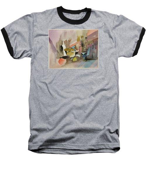 Abstract Opus 4 Baseball T-Shirt