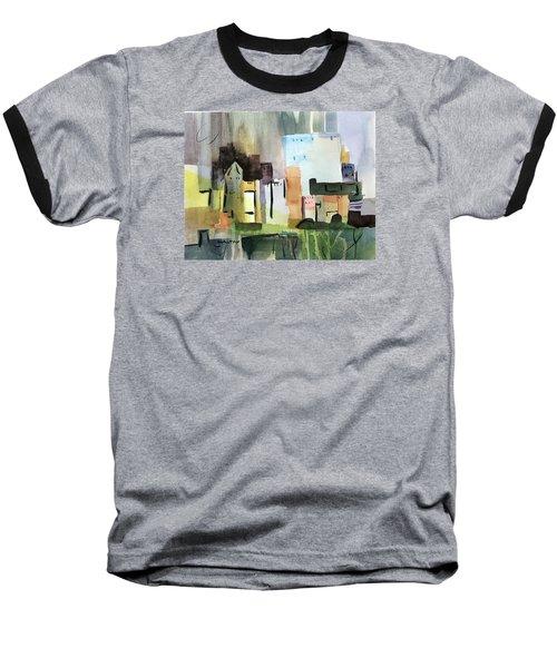Abstract Opus 5 Baseball T-Shirt