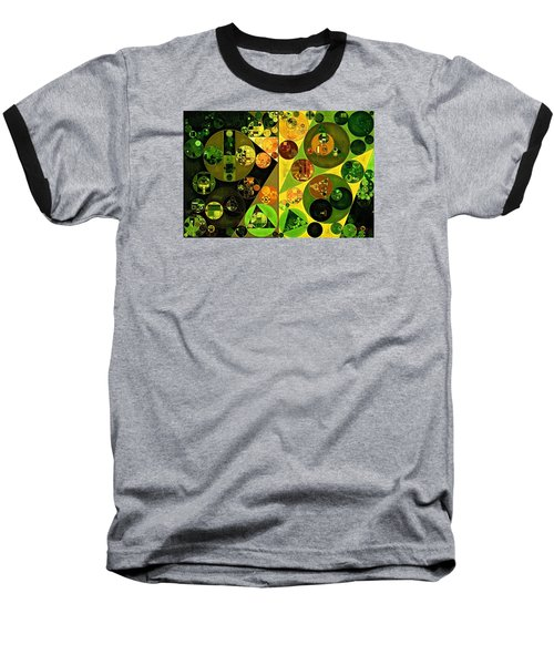 Abstract Painting - Barberry Baseball T-Shirt