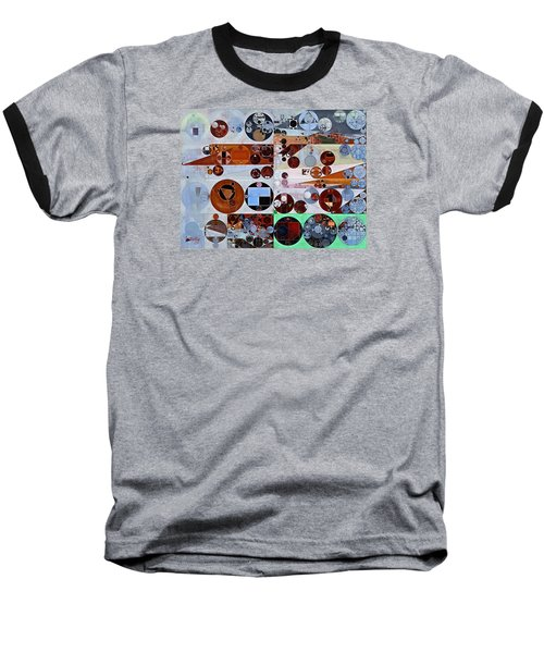 Abstract Painting - Heather Baseball T-Shirt