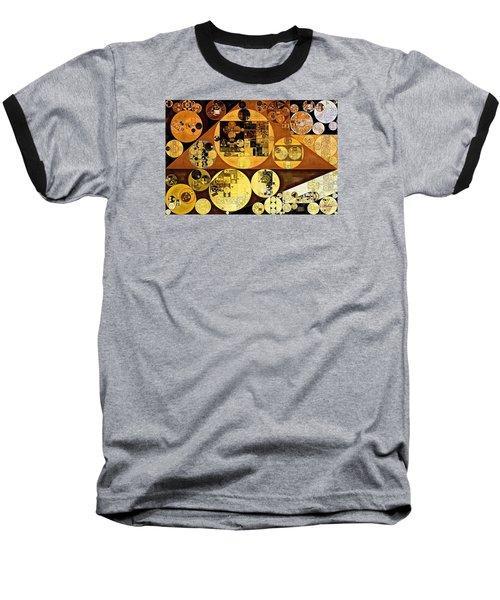 Baseball T-Shirt featuring the digital art Abstract Painting - Mai Tai by Vitaliy Gladkiy