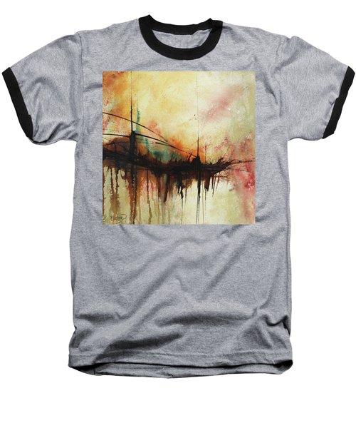 Abstract Painting Contemporary Art Baseball T-Shirt