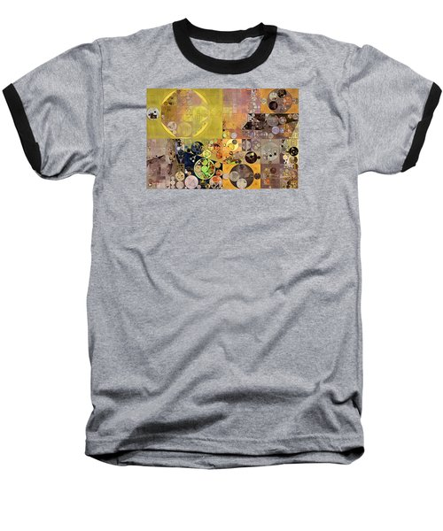 Abstract Painting - Pale Brown Baseball T-Shirt