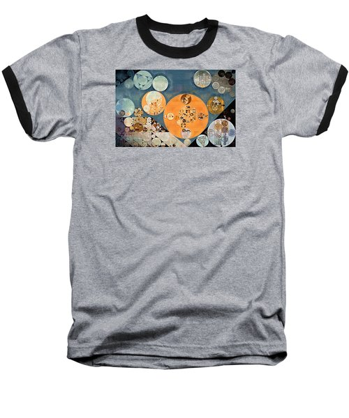 Abstract Painting - Shuttle Grey Baseball T-Shirt