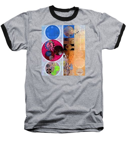 Abstract Painting - Wafer Baseball T-Shirt