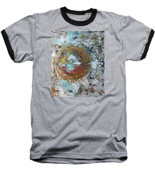 Abstract Paintng Baseball T-Shirt