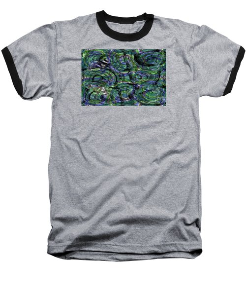 Abstract Pattern 5 Baseball T-Shirt