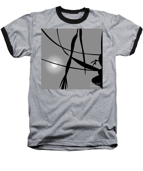 Abstract Reflection Baseball T-Shirt