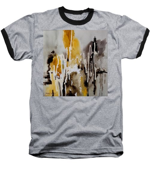 Abstract Scene Baseball T-Shirt