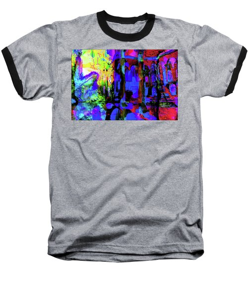 Abstract Series 0177 Baseball T-Shirt