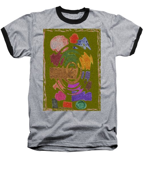 Abstract Shapes Baseball T-Shirt