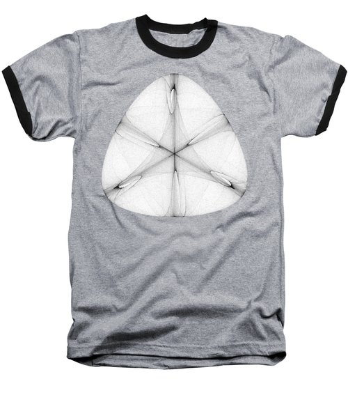 Abstract Shell Baseball T-Shirt