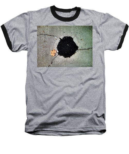 Abstract Sidewalk Baseball T-Shirt