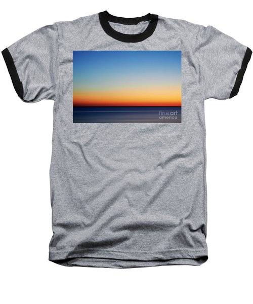 Abstract Sky Baseball T-Shirt