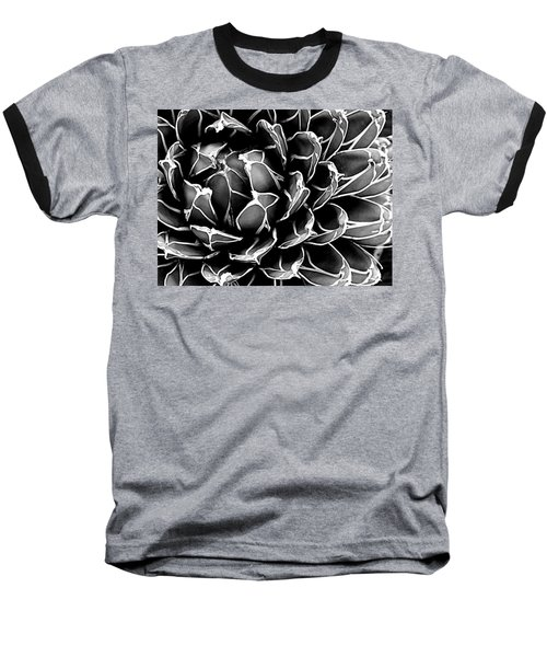 Baseball T-Shirt featuring the photograph Abstract Succulent by Ranjini Kandasamy