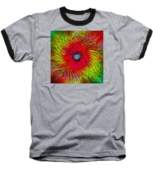 Baseball T-Shirt featuring the photograph Abstract Swirl 03 by Jack Torcello